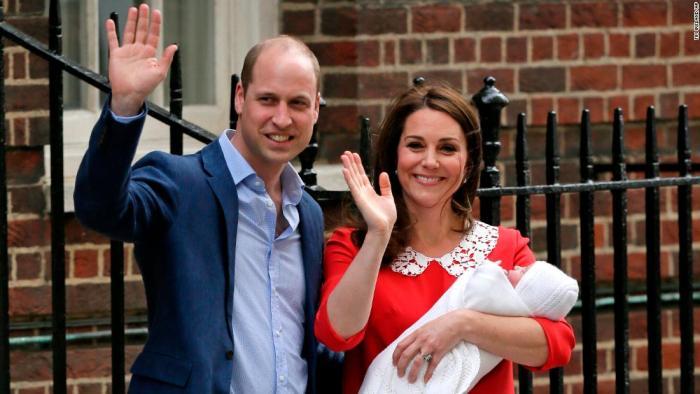 Duke , Duchess, Baby, Name