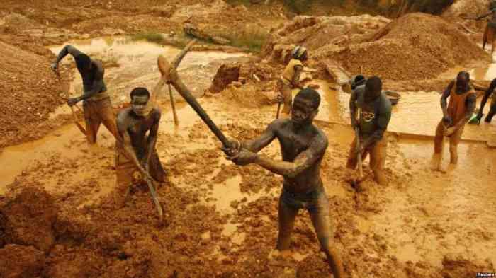 Ghana, Gold, Mining, Collapse