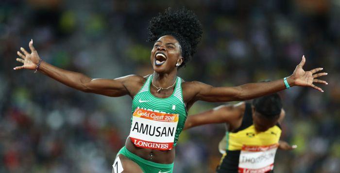 Commonwealth, Games, Australia, Nigeria, Oluwatobiloba Amusan