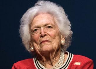 Barbara Bush, Ill, Hospital, Medical, Treatment