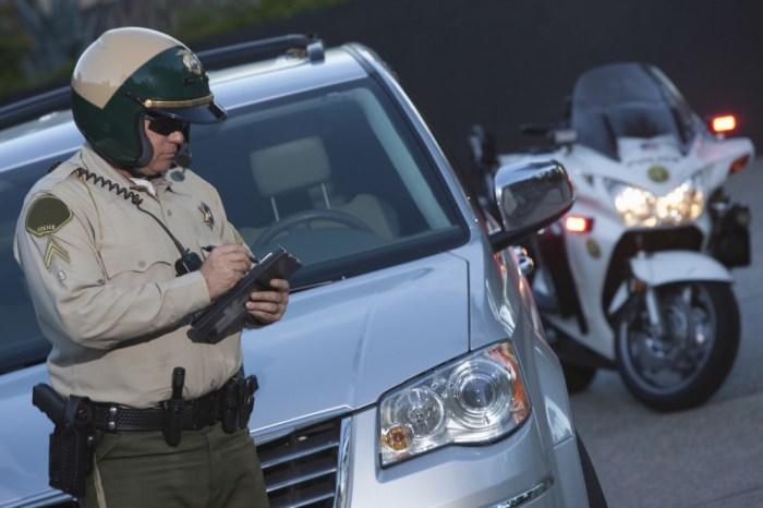 speeding ticket driving