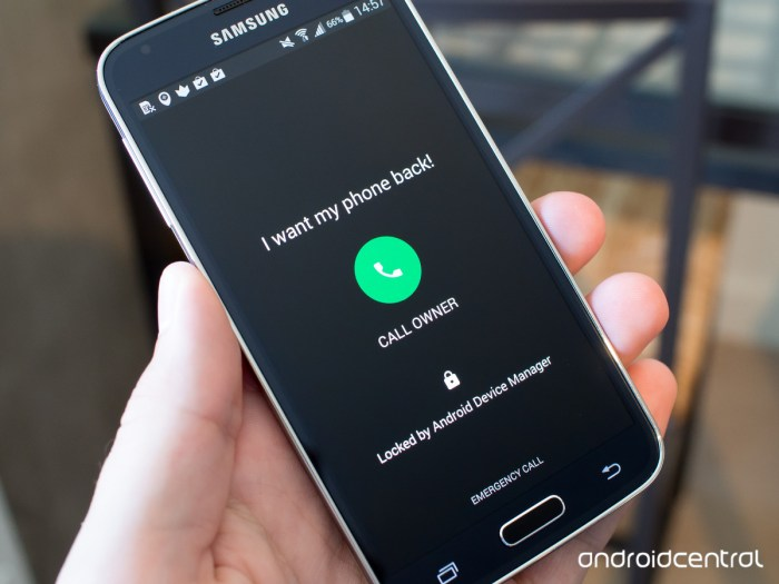 problems android device lock screen phone