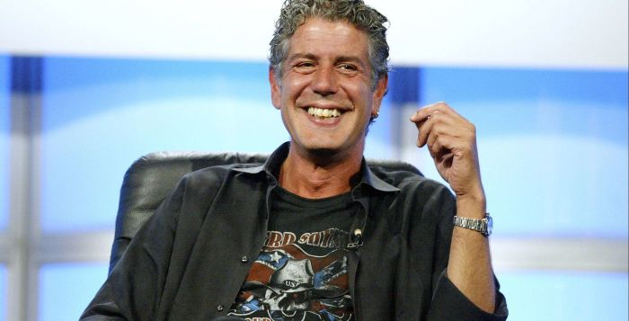 Anthony Bourdain, CNN host and celebrity chef