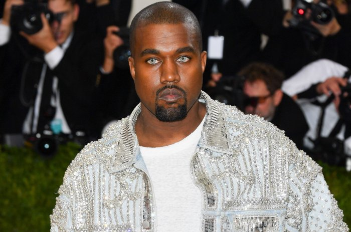 Kanye West at the 2016 Met Gala in New York City.