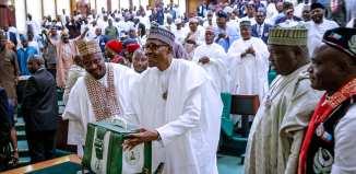 President Muhammadu Buhari, Ita Enang, Peter Ozo-Eson, Bobboi Kaigama