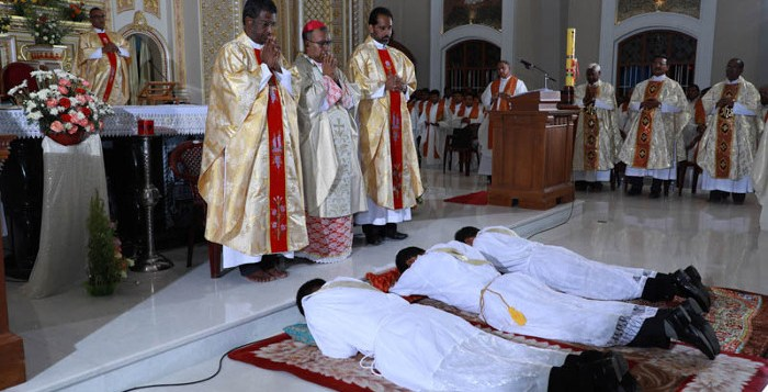 Eleven young Catholics, among them a former member of staff of the News Agency of Nigeria (NAN), were on Saturday in Owerri ordained priests and deacons. NAN