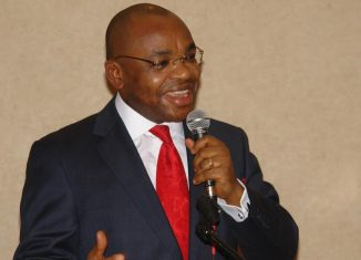 Udom Emmanuel, the governor of Akwa Ibom State