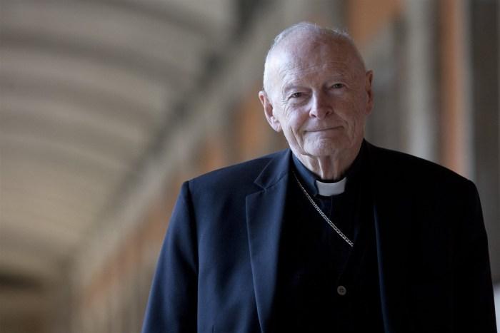 Cardinal Theodore Edgar McCarrick.Andrew Medichini / AP