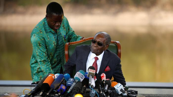 Zimbabwe's general election pits 75-year-old president Emmerson Mnangagwa, a long-time Mugabe ally, against 40-year-old Nelson Chamisa. Video: Reuters
