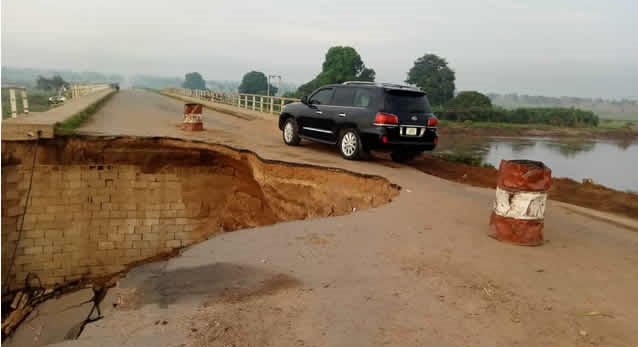 Benue: 'Jalingo-Wukari Federal Highway Now A Death Trap' (PHOTOS)