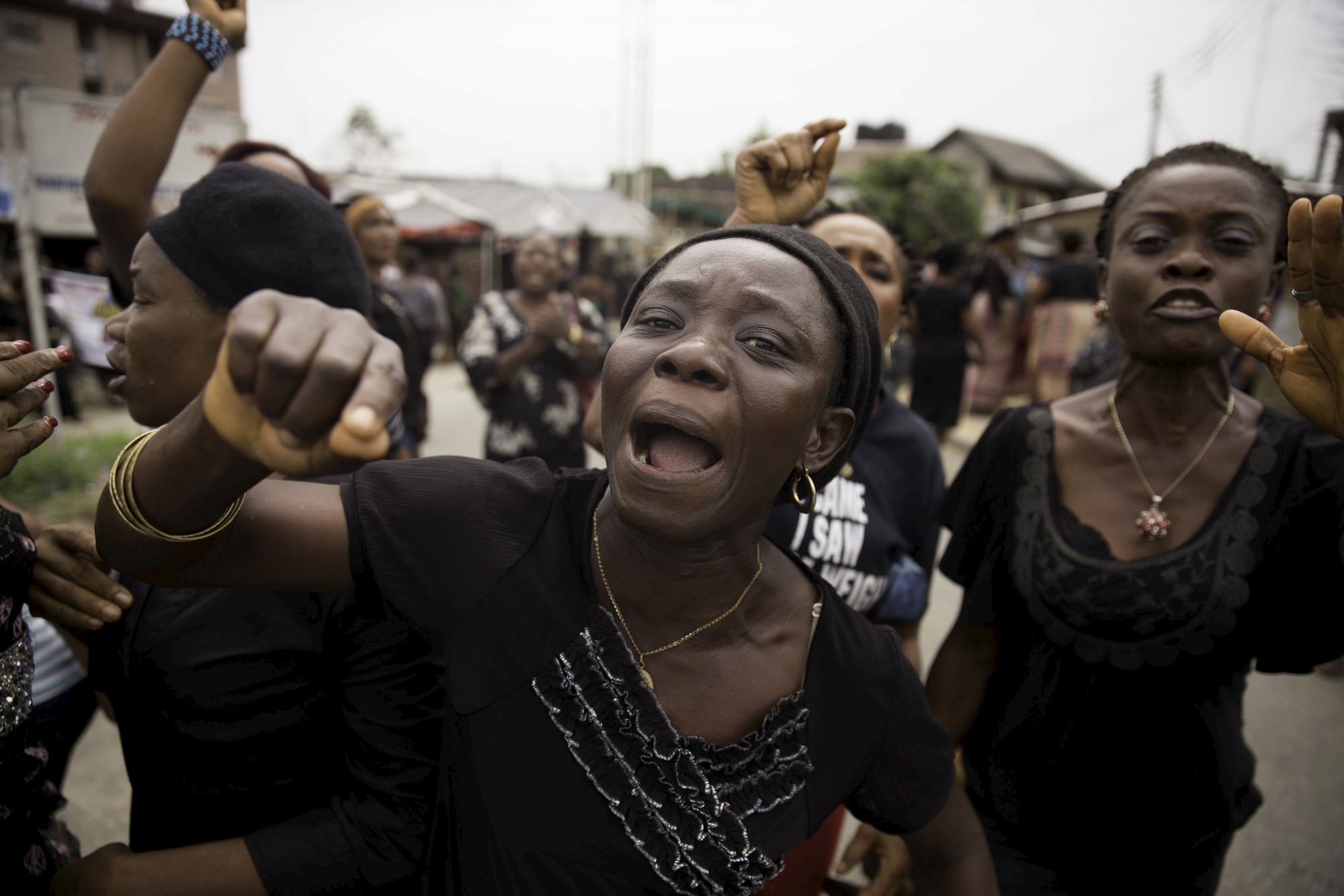 NIGERIA-WOMEN-PROTEST-Ventures-Africa-e1447219012476 - The Trent