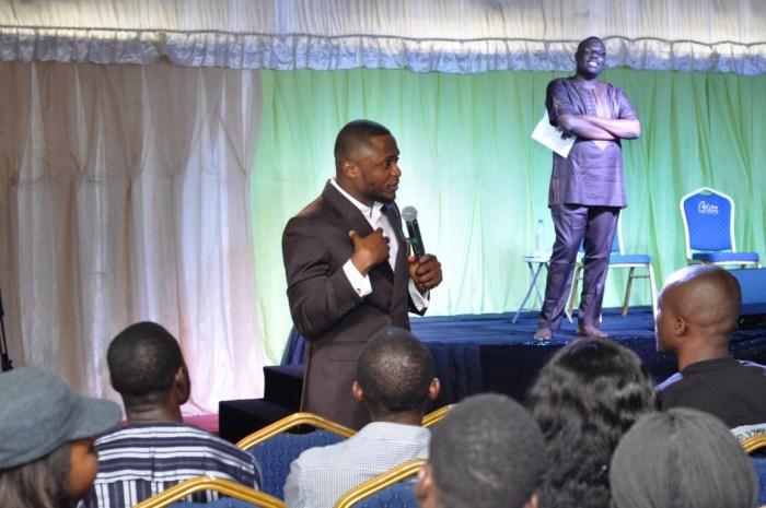 at a Joy Masterclass on July 28, 2018 at Lekki, Lagos | Red Media