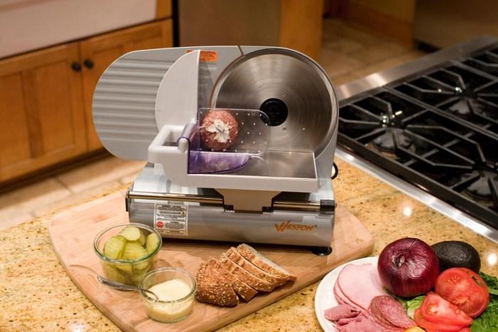 meat slicer kitchen home