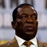 Zimbabwe' president Emmerson Mnangagwa.