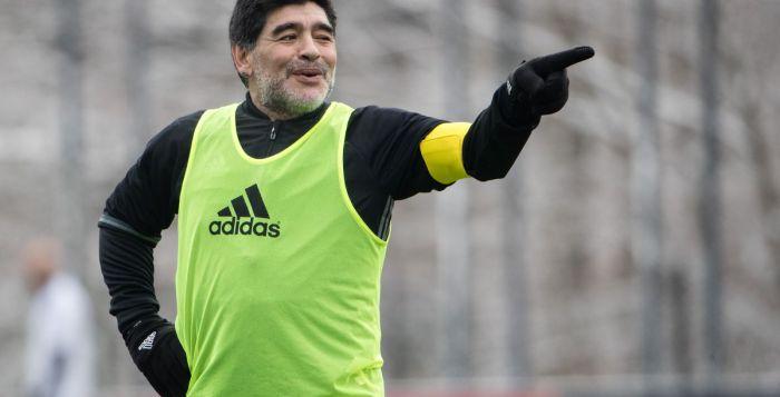 Diego Maradona, Francisco Gamez, Dorados