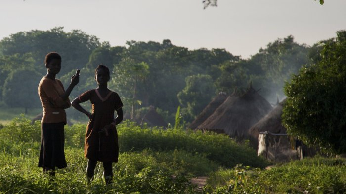 Rural Nigeria Mobile phone