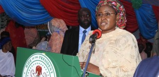 Nigeria's First Lady Aisha Buhari