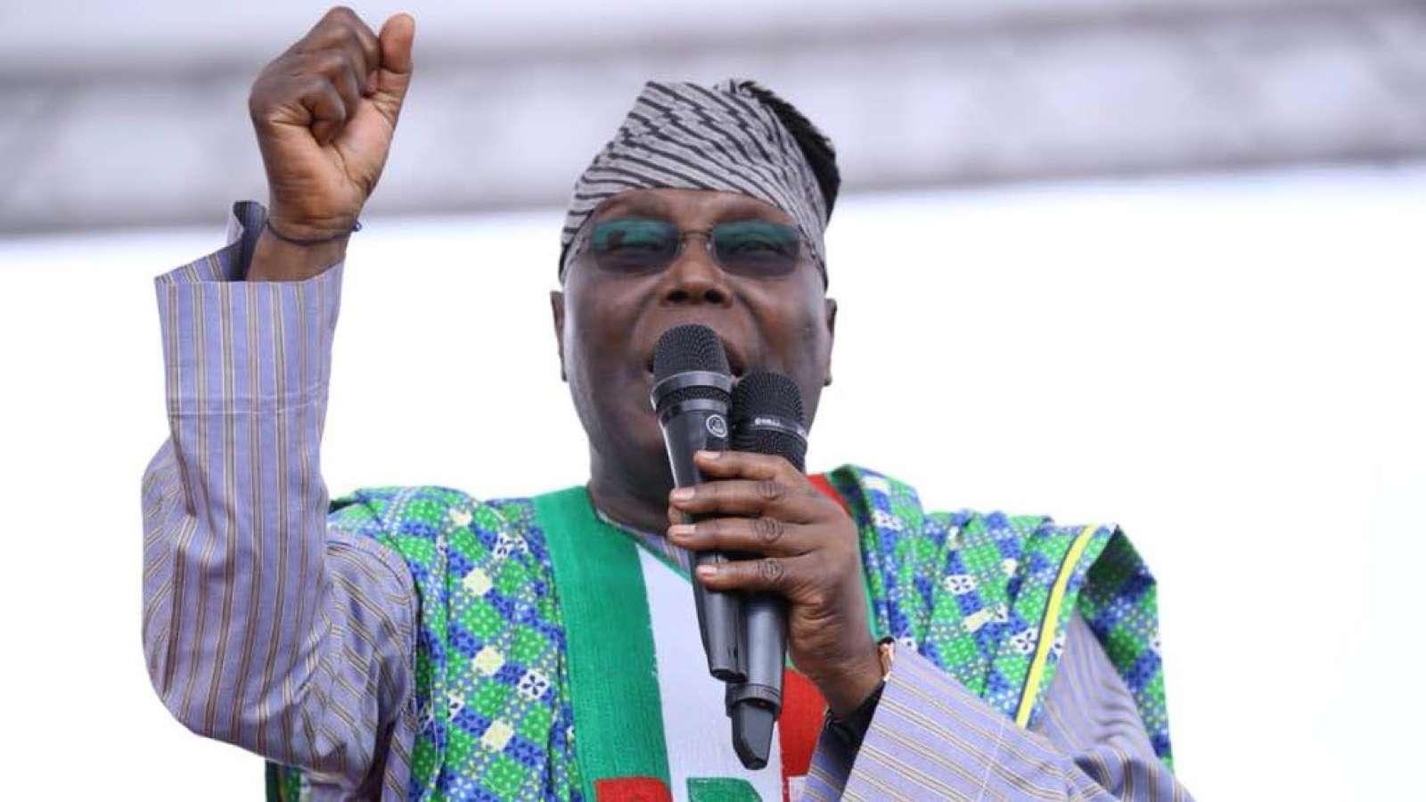 Image result for Atiku defeats Buhari in Gov. Ambode's Ward ...