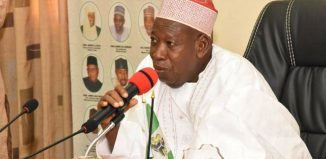 Abdullahi Ganduje of Kano State. Photo/ NAN