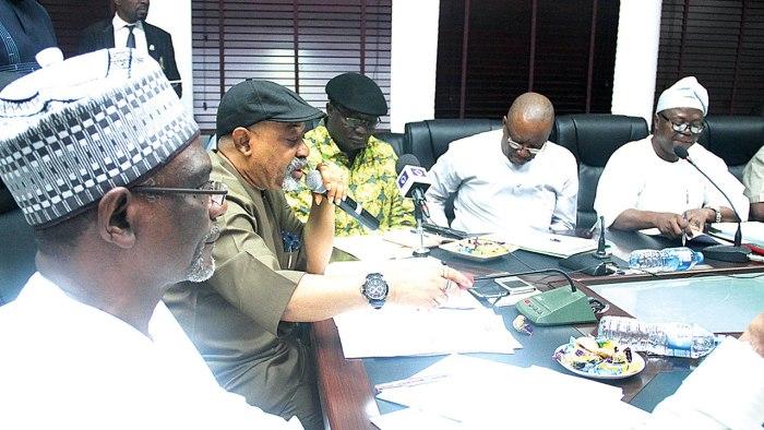 Chris Ngige, Samuel Olowookere, Muhammadu Buhari