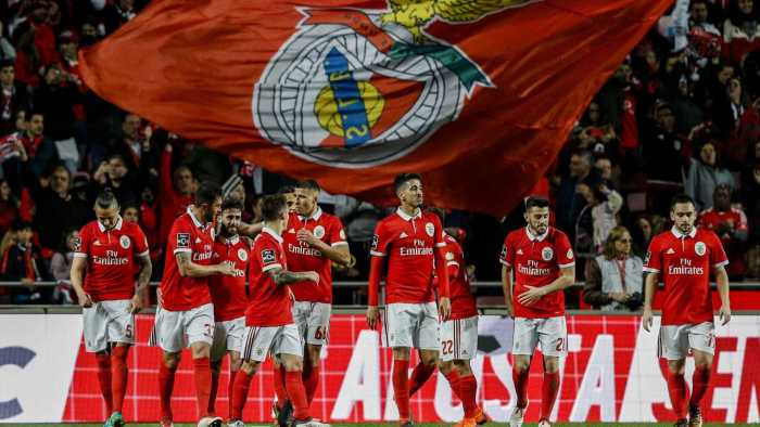 Benfica players | Global Images