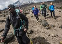 Climbers on Mount Kilimanjaro | G Adventures