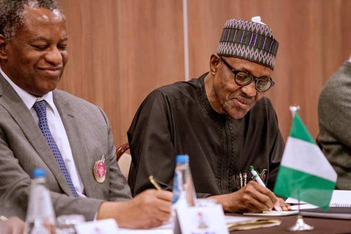 Geoffrey Onyeama, President Buhari, Abubakar Sani Bello, Ifeanyi Ugwuanyi