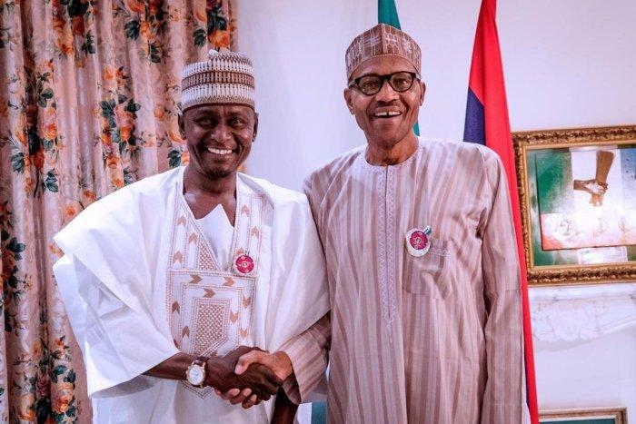 Babayo Gamawa and President Buhari