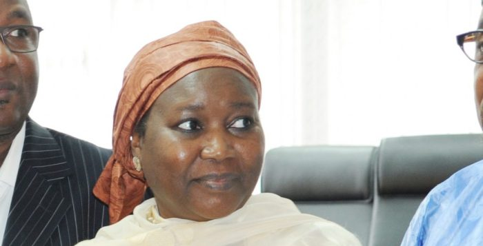 Amina Zakari, INEC official and relative to President Muhammadu Buhari