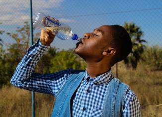 drinking water water