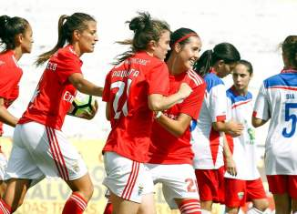 Benfica women set Portuguese record with 28-0 win over Ponte de Frielas