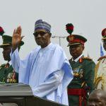 Nigerian President Muhammadu Buhari in Abuja, Nigeria