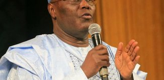 Former Vice President Atiku Abubakar, the presidential candidate of the People's Democratic Party, PDP in the 2019 elections