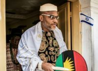Nnamdi Kanu, the leader of Indigenous People of Biafra, IPOB