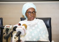 Zainab Ahmed, the Minister of Finance n75 billion