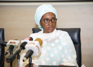Zainab Ahmed, the Minister of Finance n75 billion