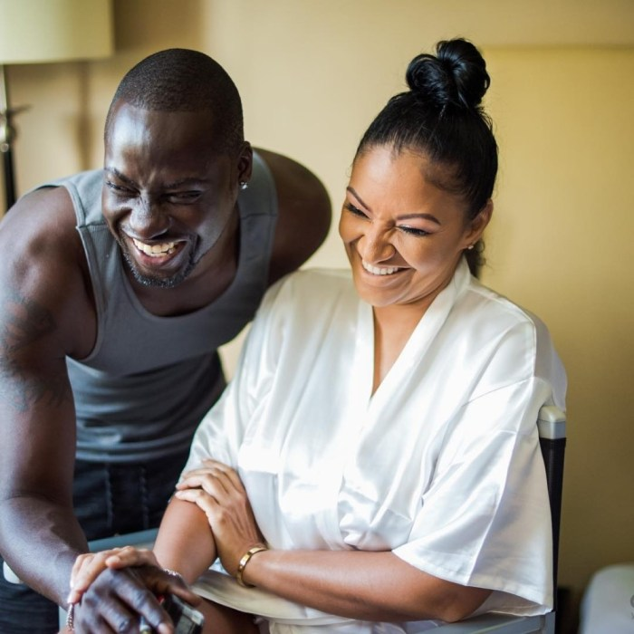 Bettie Jenifer and her actor husband, Chris Attoh
