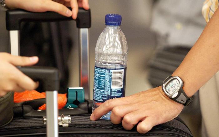 airport water travel