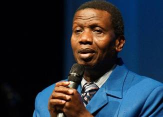 Pastor Enoch Adeboye, the general overseer of the Redeemed Christian Church of God, RCCG