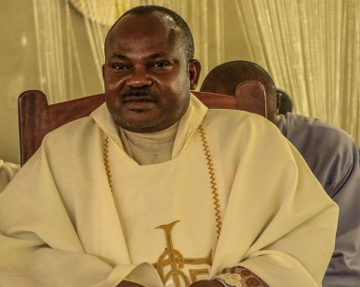 Parish Priest of St. James The Greater Parish, Ugbawka in Nkanu East Local Government Area, Reverend Father Paul Offu