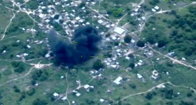 screengrab from Nigerian Air Force video
