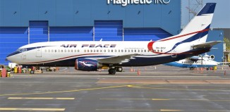 Air Peace Airline Aircraft