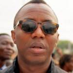 Omoyele Sowore, a pro-democracy campaigner and convener of RevolutionNow movement