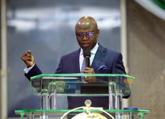 Tunde Bakare, the presiding pastor of the Latter Saints Assembly