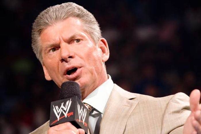 Vince McMahon and former president and CEO of the WWE,