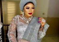 Popular crossdresser known as Bobrisky. His real name is Okuneye Idris.