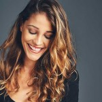 hair bundles olive tone skin beautiful woman