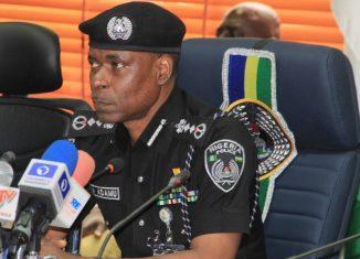 Mohammed Adamu, Nigeria's inspector general of police