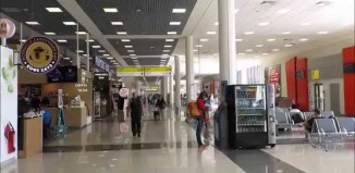 Inside Sheremetyevo International Airport (SVO), Moscow (Russia) | Screengrab from Youtube