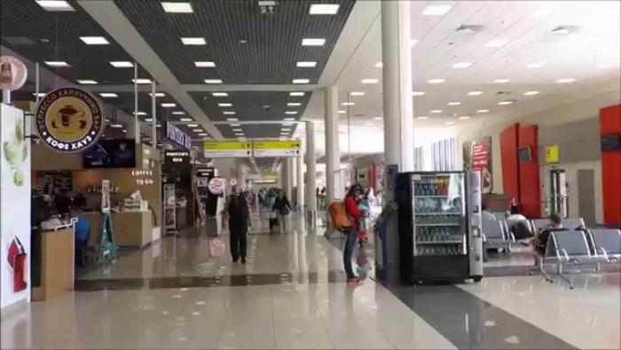 Inside Sheremetyevo International Airport (SVO), Moscow (Russia)   Screengrab from Youtube